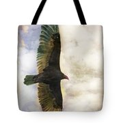 Vulture In Color Tote Bag