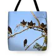 Vulture Tree Full Of Buzzards Tote Bag