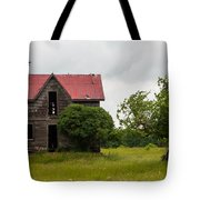 Vultures On A Farmhouse Tote Bag