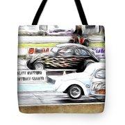 Vw Beetle Race Tote Bag