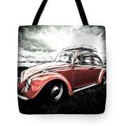 Vw Bug Art Tote Bag