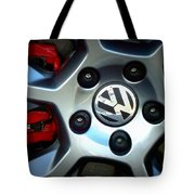 Vw Gti Wheel Tote Bag
