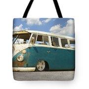 Vw Lowrider Bus Tote Bag