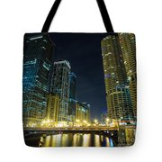 Wabash City Scape Tote Bag
