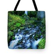 Wachlella Falls Columbia River Gorge National Scenic Area Oregon Tote Bag