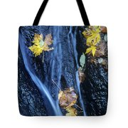 Wachlella Falls Detail Columbia River Gorge Tote Bag