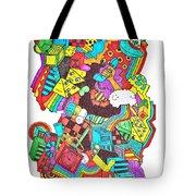 Wackadoo Tote Bag by Chelsea Geldean