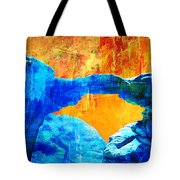 Wadi Rum Natural Arch 2 Tote Bag