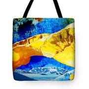 Wadi Rum Natural Arch Tote Bag