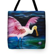 Wading Around Tote Bag