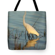 Wading The Pond Tote Bag