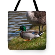 Wadlding To The Water Tote Bag