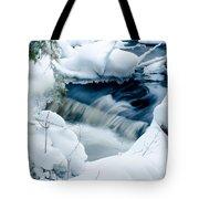 Wagner Creek In Winter Tote Bag