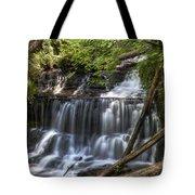 Wagner Falls Tote Bag