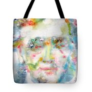 Wagner - Watercolor Portrait Tote Bag