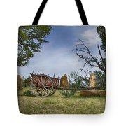 Wagon-hill Country Texas V2 Tote Bag
