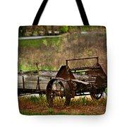 Wagon Tote Bag by Marty Koch