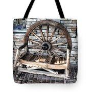 Wagon Wheel Chair Tote Bag