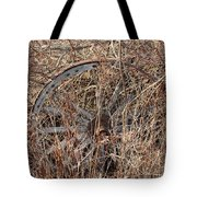 Wagon Wheel_7438 Tote Bag