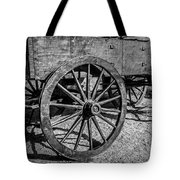 Wagon Wheels Rolling Tote Bag