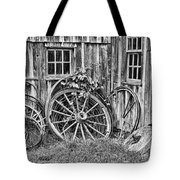 Wagons Lost Tote Bag by Crystal Nederman