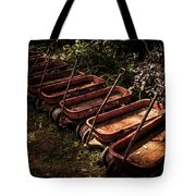 Wagons Of Yesterday Tote Bag