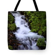 Wahkeena Falls In Oregon Tote Bag