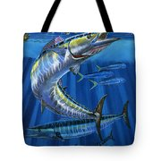 Wahoo Rip Off0047 Tote Bag by Carey Chen