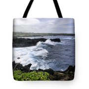 Waianapanapa Pailoa Bay Hana Maui Hawaii Tote Bag