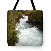 Waikato River Huka Falls Tote Bag