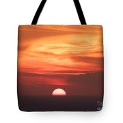 Waikiki Sunset No 3 Tote Bag