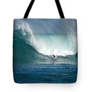 Waimea Bay Monster Tote Bag