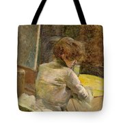 Waiting At Grenelle Tote Bag
