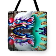 Waiting Dragon Reflect  Tote Bag