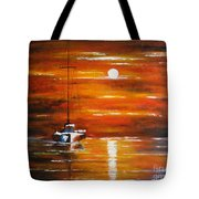 Waiting... Tote Bag