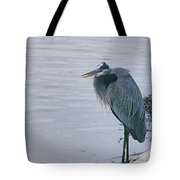 Waiting For A Boat Ride Tote Bag