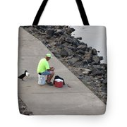 Waiting For Crumbs Tote Bag