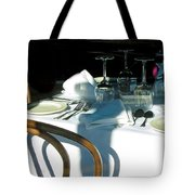 Waiting For Diners Tote Bag