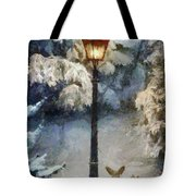 Waiting For Santa 2 Tote Bag
