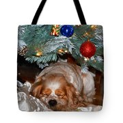 Waiting For Santa Tote Bag