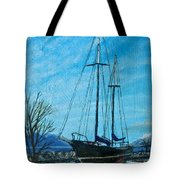 Waiting For Springtime. Tote Bag