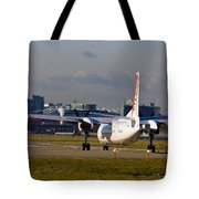 Waiting For Take-off  Tote Bag