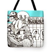 Waiting For The Call Tote Bag by George Pedro
