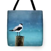 Waiting For The Fishing Boats Tote Bag