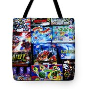 Waiting For The Next Explosion Tote Bag