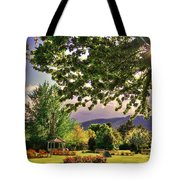 Waiting For The Roses To Bloom Tote Bag