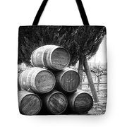 Waiting For Wine Season Tote Bag
