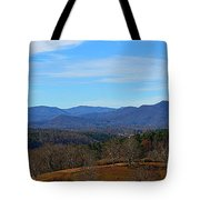 Waiting For Winter In The Blue Ridge Mountains Tote Bag