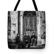 Waiting In Ravello Tote Bag