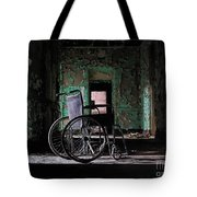 Waiting In The Light Tote Bag